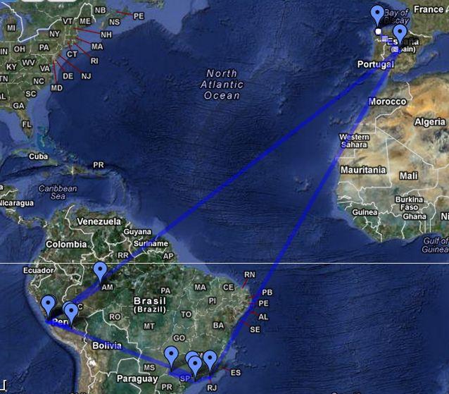 Itinerario amazonas